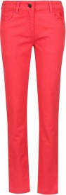 UFO Skinny Fit Girls Red Trousers