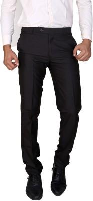Boy Adam Slim Fit Men's Brown Trousers