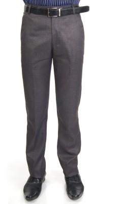 Bellavita Regular Fit Men's Blue Trousers