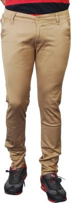 Paranoid Slim Fit Men's Brown Trousers