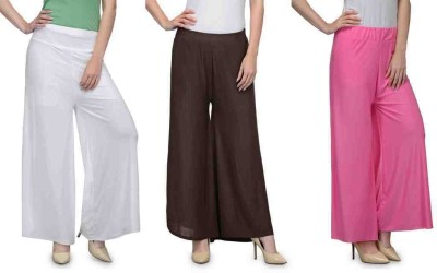 Luv Valentina Regular Fit Women's Multicolor Trousers