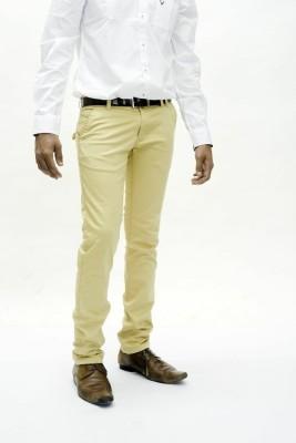 True Faith Men's Beige Trousers