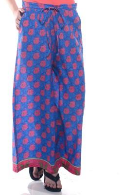 Lyla Regular Fit Women's Blue, Pink Trousers
