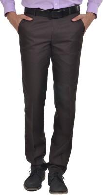 Club Fox Regular Fit Men's Brown Trousers