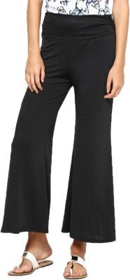 Royal Regular Fit Women's Black Trousers