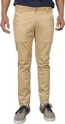 Made In The Shade Slim Fit Men's Cream Trousers