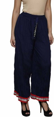 Crux&Hunter Regular Fit Women's Blue Trousers