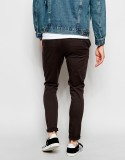MeraKapda Slim Fit Men's Brown Trousers