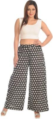 Salwar Studio Regular Fit Women's Black, White Trousers