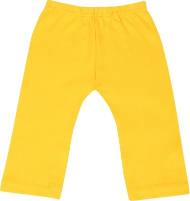 Harsha Regular Fit Baby Boy's Yellow Trousers