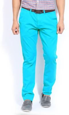 Quiksilver Slim Fit Men's Green Trousers