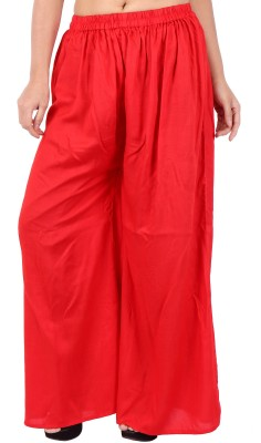 In-Trend Regular Fit Women's Orange Trousers