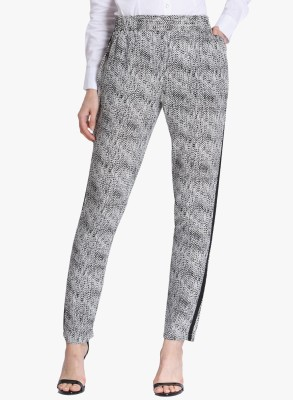 Vero Moda Regular Fit Women's White Trousers