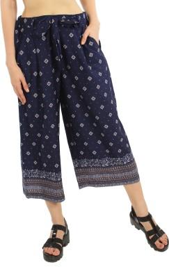 Good Fashion Regular Fit Women's Light Blue Trousers