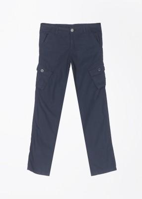 Cherokee Kids Slim Fit Boys Blue Trousers