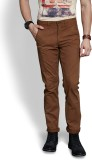 Route 66 Slim Fit Men's Beige Trousers