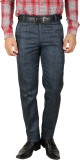 Larwa Regular Fit Men's Blue Trousers