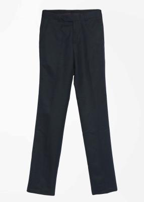 John Players Slim Fit Men's Dark Blue Trousers