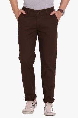 Babas Wear Regular Fit Men's Brown Trousers