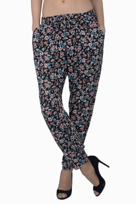 Miway Regular Fit Women's Multicolor Trousers