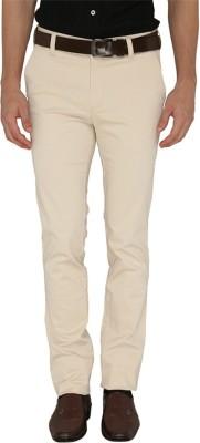 Greenfibre Slim Fit Men's Beige Trousers