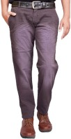 British Terminal Regular Fit Mens Brown Trousers