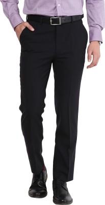 GIVO Slim Fit Men's Dark Blue Trousers