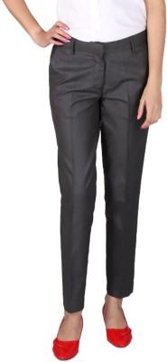 Ramarrow Slim Fit Women's Grey, Black Trousers