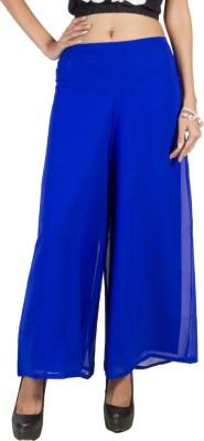 Pietra Regular Fit Women's Blue Trousers