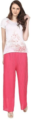 Skyline Trading Regular Fit Women's Pink Trousers