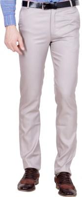 Shaurya-F Regular Fit Men's Beige Trousers