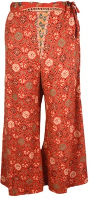 Shopatplaces Regular Fit Women's Red Trousers