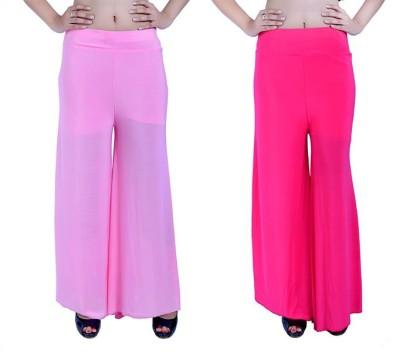 Ajaero Regular Fit Women's Pink, Pink Trousers