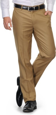 Leonardi Slim Fit Men's Beige Trousers