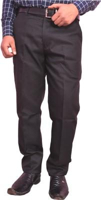 Larwa Fashion Regular Fit Men's Brown Trousers