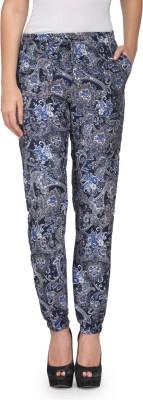 Kiosha Slim Fit Women's Blue Trousers