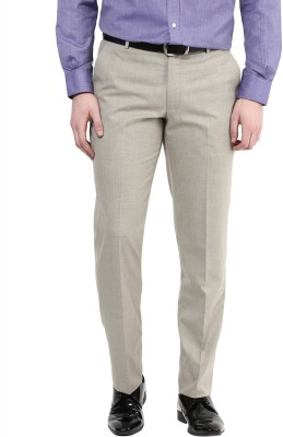 COBB Slim Fit Men's Beige Trousers