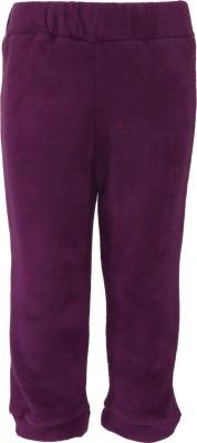 Nino Bambino Regular Fit Baby Boy's Purple Trousers