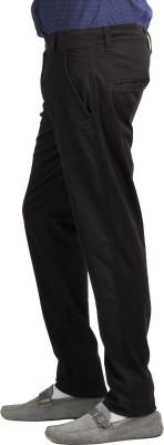 Bald Eagle Slim Fit Men's Black Trousers