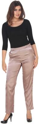 Fast n Fashion Regular Fit Women's Pink Trousers