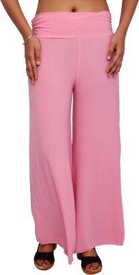 Fine Colors Regular Fit Womens Pink Trousers