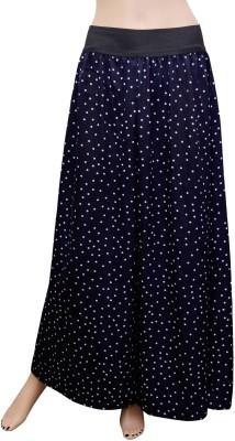 GraceDiva Regular Fit Women's Dark Blue, White Trousers