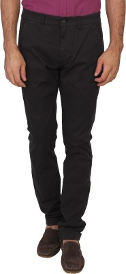 Calvin Klein Slim Fit Men's Black Trousers