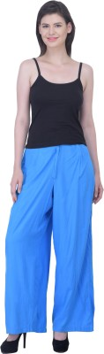 Pistaa Regular Fit Women's Light Blue Trousers