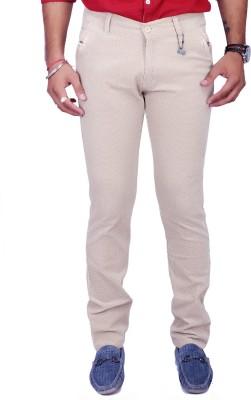 Rusty Cooper Regular Fit Men's Beige Trousers