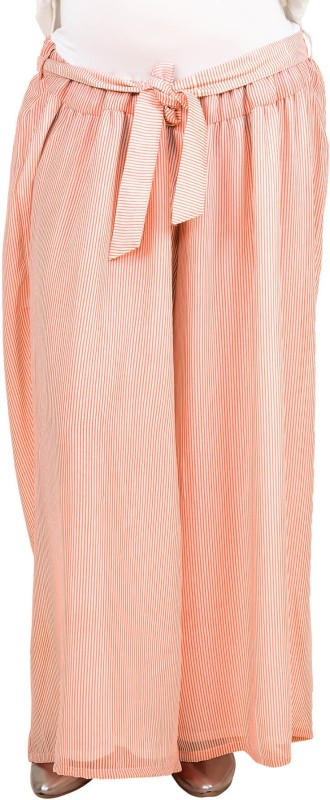 9teen Again Regular Fit Women's Pink Trousers