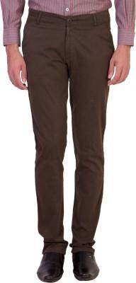 Maciej Slim Fit Men's Green Trousers