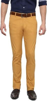 Allen Solly Skinny Fit Men,s Beige Trousers