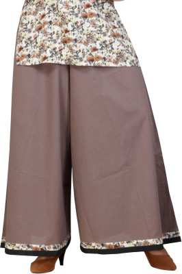 Lifestyle Retail Regular Fit Women's Brown Trousers