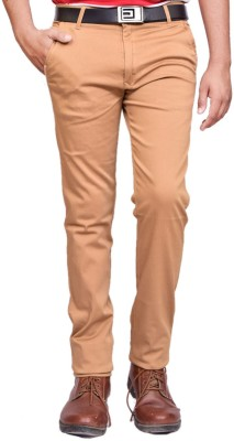 British Terminal Slim Fit Mens Gold Trousers